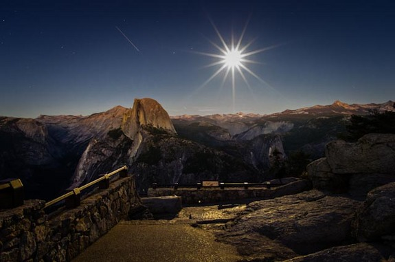 Half-Dome-ISS-Full-Moon